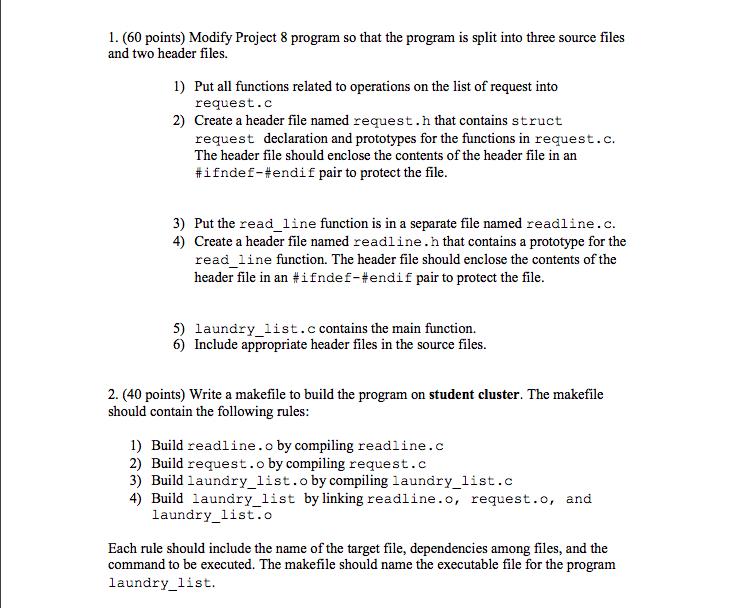Project 8's Code: #include #include #include #incl