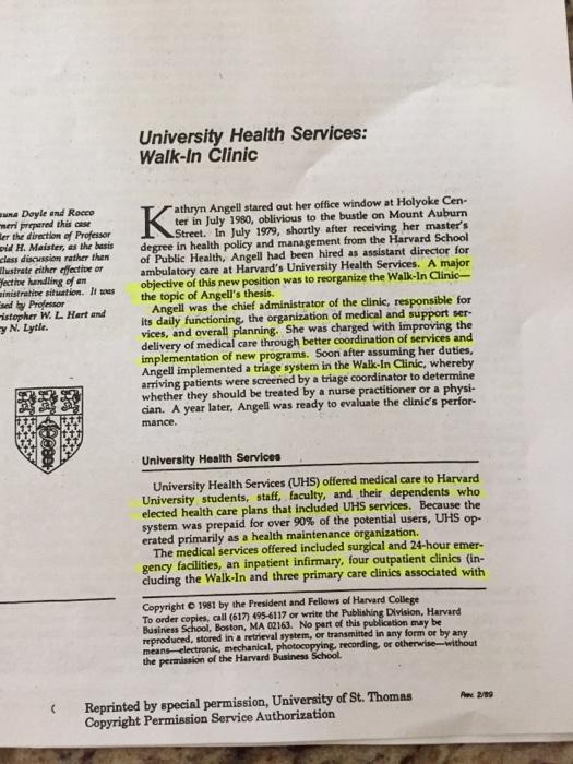harvard university health services walk in clinic