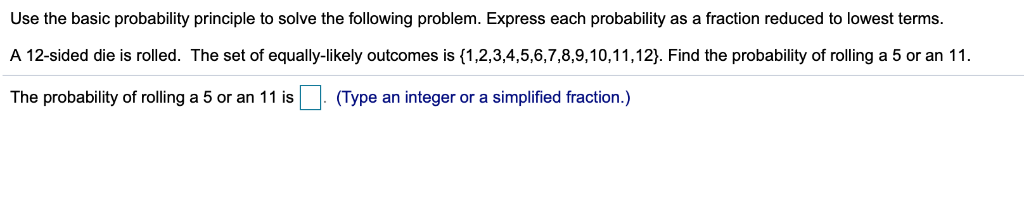 Solved: Use The Basic Probability Principle To Solve The F