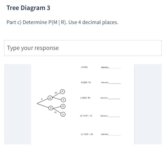 Statistics Tree Diagram 3 Electrical Wiring Diagrams