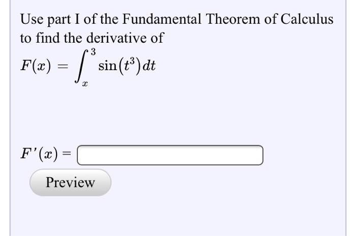 a look at the fundamental concept of the derivative in the heart of calculus The first part of the fundamental theorem of calculus tells us that if we define look, as delta x you have the idea of a derivative and then in integral.