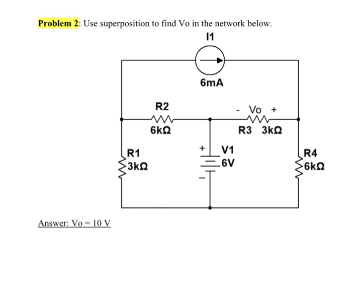 Electrical engineering archive october 02 2017 chegg oem2usesupapoi 6ma r2 vo r1 v1 r4 answer vo 10 v fandeluxe Images