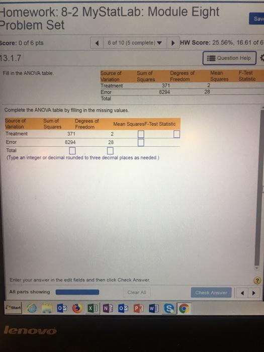 Statistics and probability archive december 23 2017 chegg homework 8 2 mystatlab module eight problem set sav 6 of 10 fandeluxe Gallery