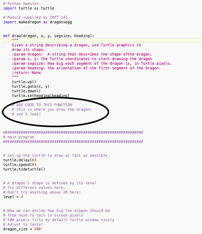 Solved: The Program Language Used: Python 3 I Need To Add