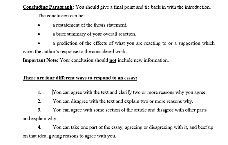 Essays Topics For High School Students  Essays Papers also Thesis Statement For Essay Solved Write A Response Essay To This Textuse  Words  Example Of A Thesis Statement For An Essay