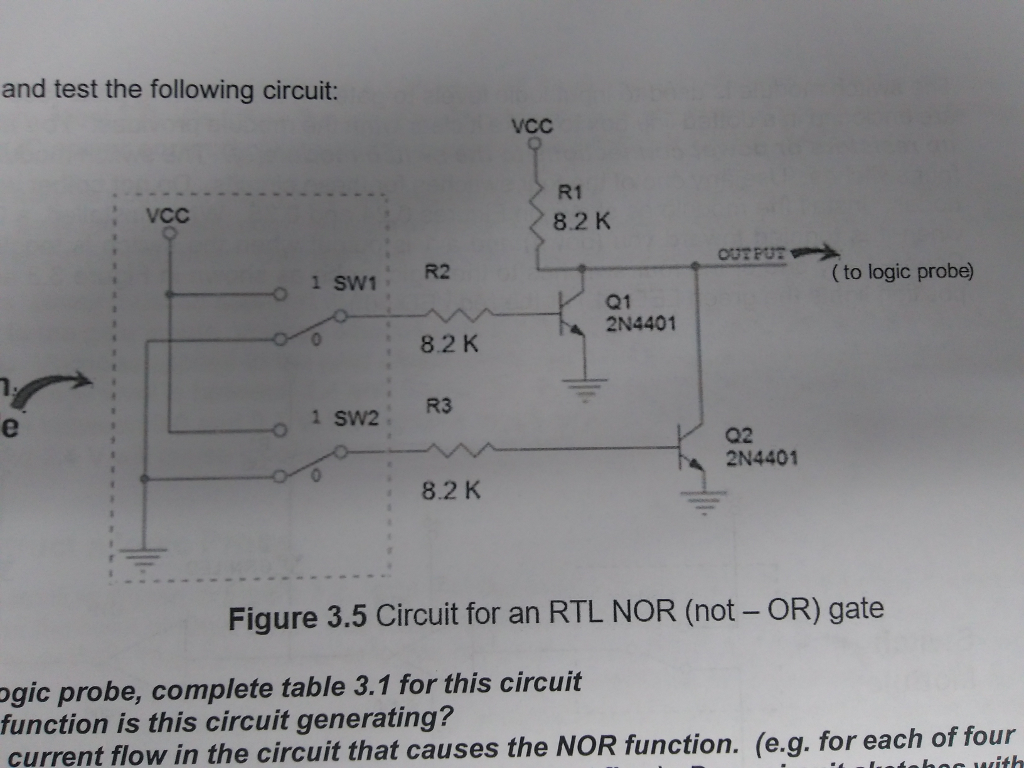 Cool Solved 2 Using The Diagrams For Nand And Nor Gates In Tr Wiring 101 Tzicihahutechinfo