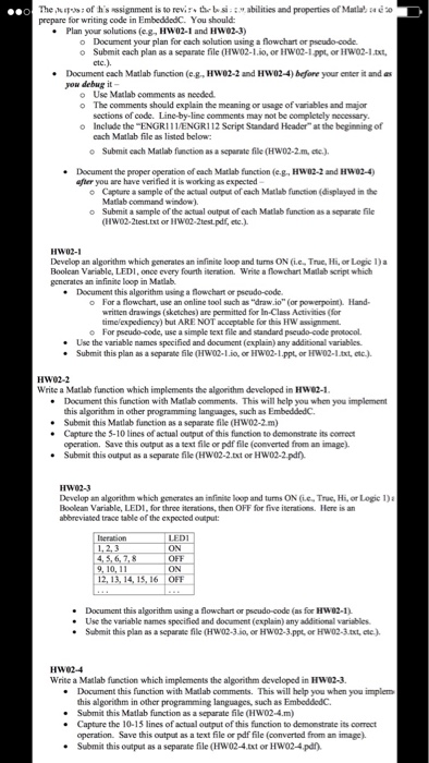 Plan Your Solutions (e g, HW02-1 And HWO2-3) Docum