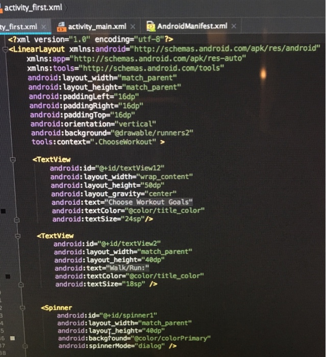 Solved I Am Using Android Studio And Trying To Put A 30