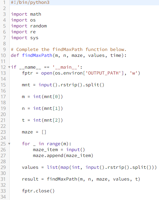 Hackerrank Python