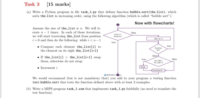 Solved: Task 3 15 Marks] (a) Write A Python Program In Fil