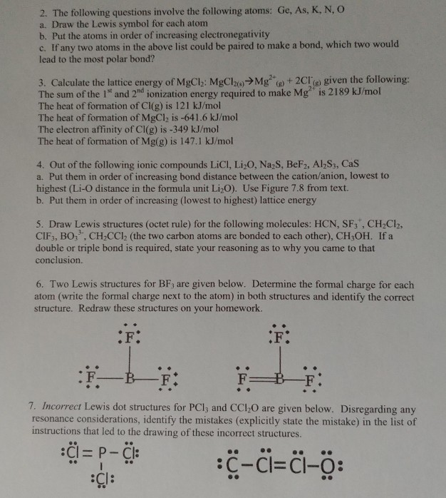 Solved 2 The Following Questions Involve The Following A