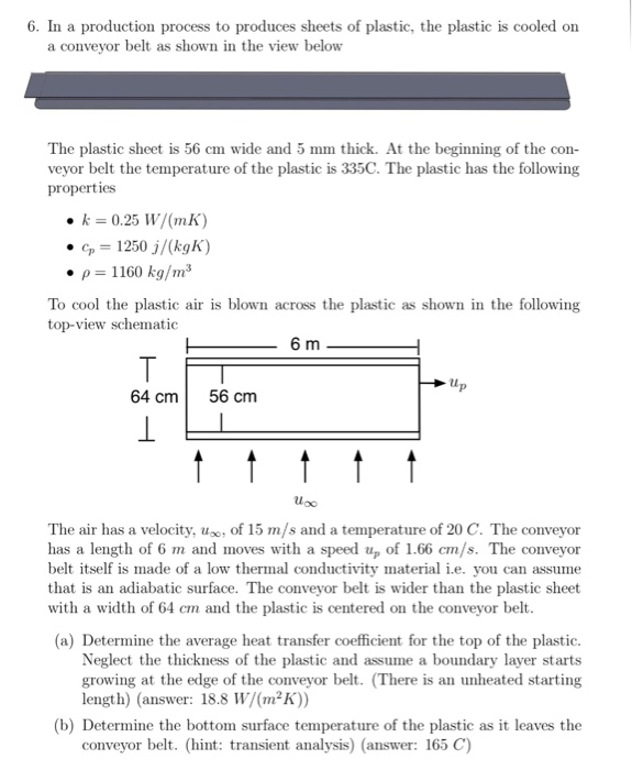 Solved: 6  In A Production Process To Produces Sheets Of P