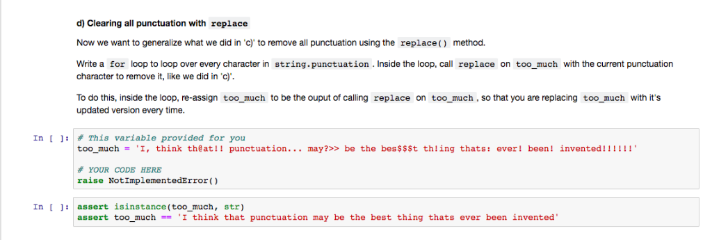 By billupsforcongress || What Is String punctuation In Python