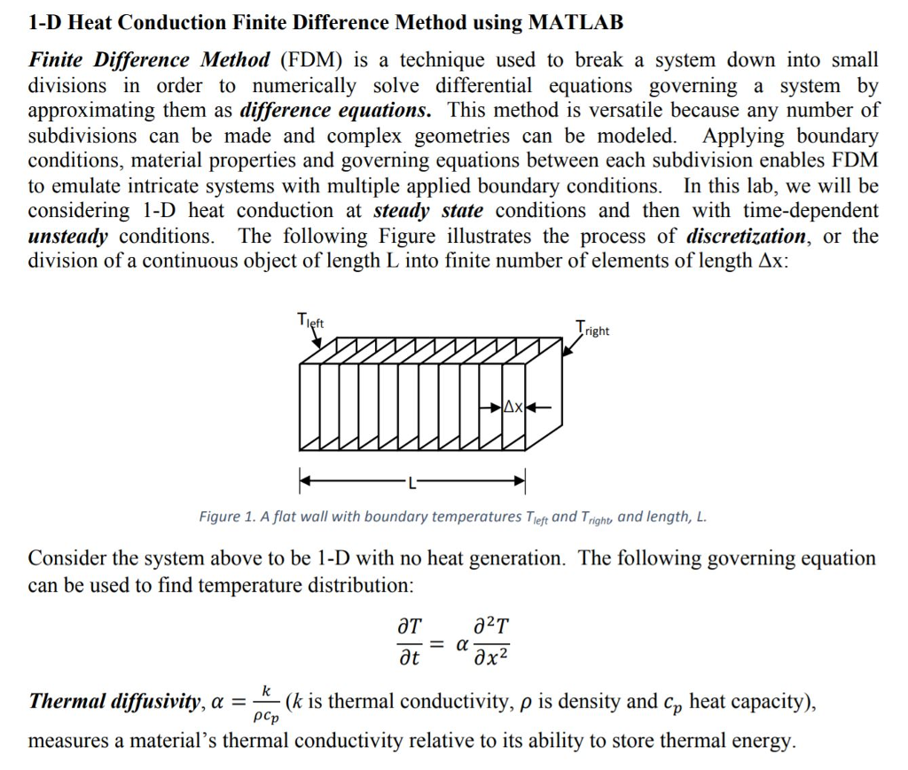 Implicit Finite Difference Method Heat Transfer Matlab