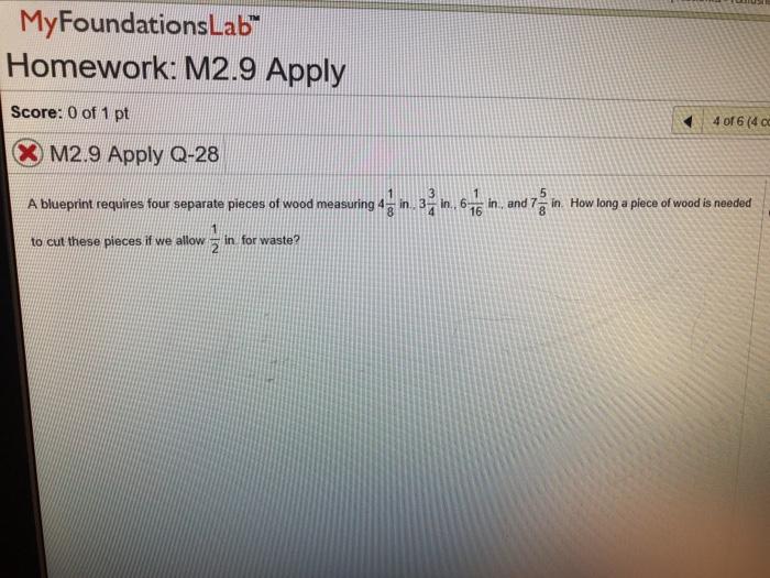 Solved myfoundationslab homework m29 apply score 0 of myfoundationslab homework m29 apply score 0 of 1 pt x m2 malvernweather Gallery