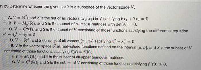 PDF  196 CHAPTER 4 Vector Spaces 4.1 Vector Spaces and Subspac
