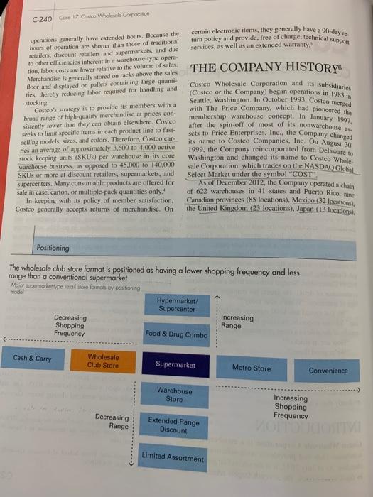 costco wholesale history