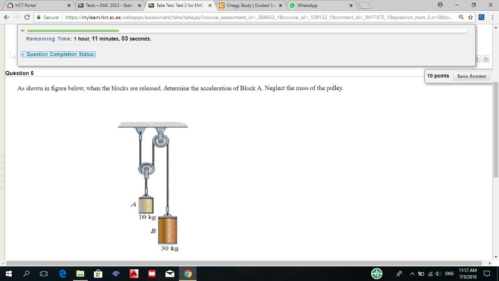 Solved: ? ?   Tests-EMC 2023-Static Xy-Teke Test: Test 2 F