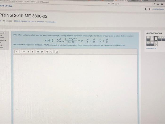 Solved: Mod/quiz/attempt phplattempt 340645Biamid 3324618p