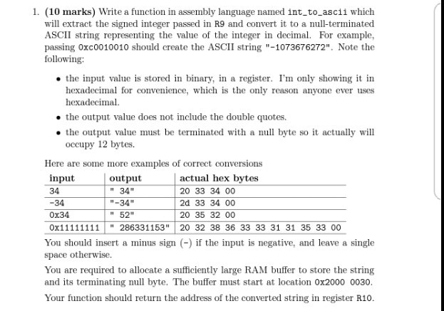 Top Five Binary To Ascii Conversion In Assembly Language
