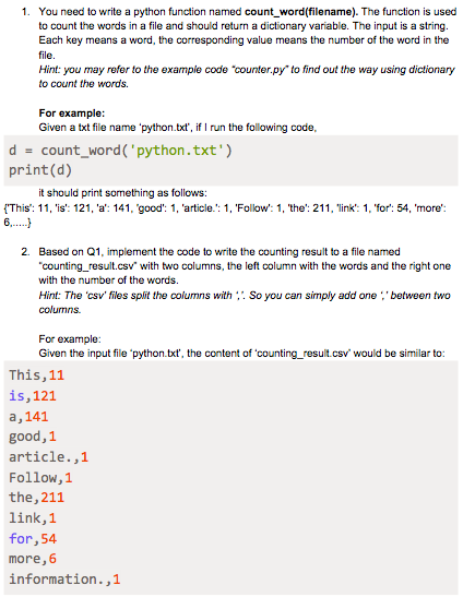 Solved: 6 1  You Need To Write A Python Function Named Cou