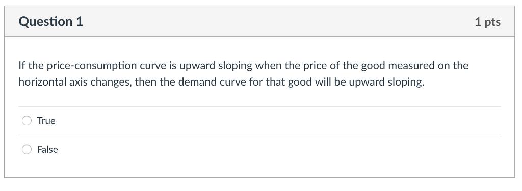 what is price consumption curve