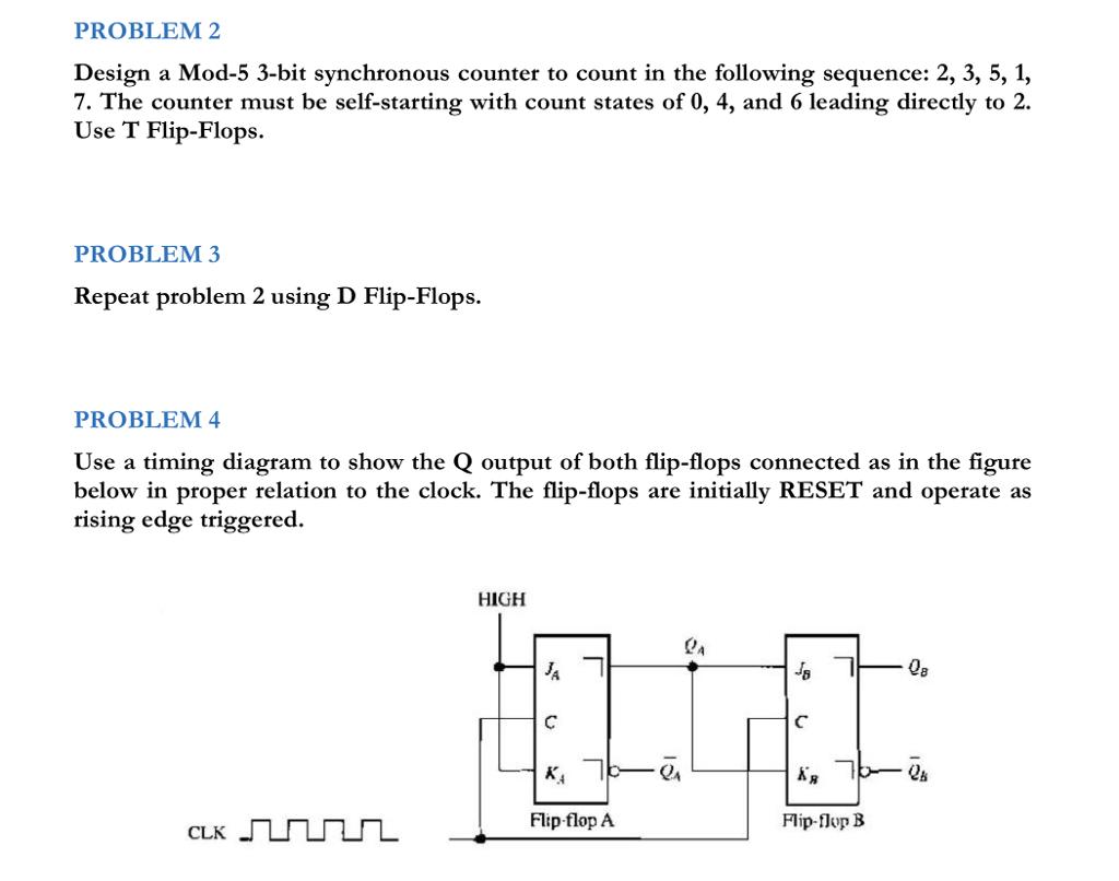 Solved  Problem 2 Design A Mod