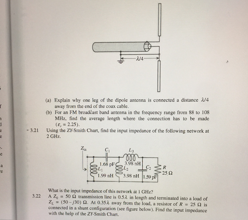 2/4 (a) Explain why one leg of the dipole antenna is