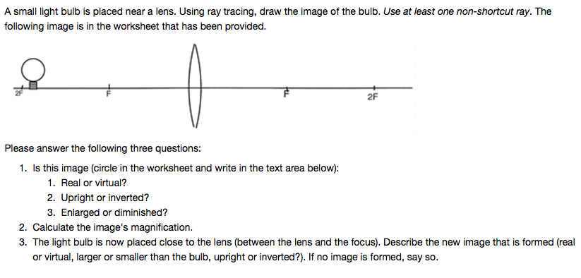 Ray Tracing Worksheet Livinghealthybulletin