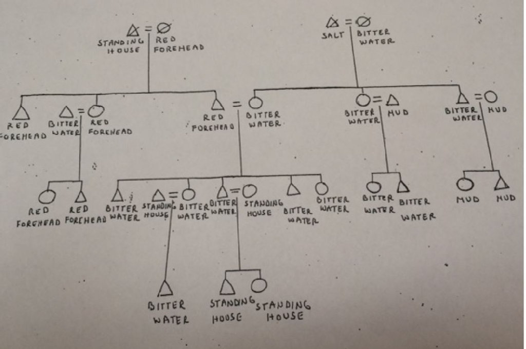 question: 1  looking at kin charts 1 & 2 that are posted under content,  unit 4, please answer the following for each chart: what is the form of  marriage?