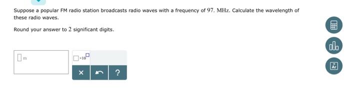 Solved: Suppose A Popular FM Radio Station Broadcasts Radi