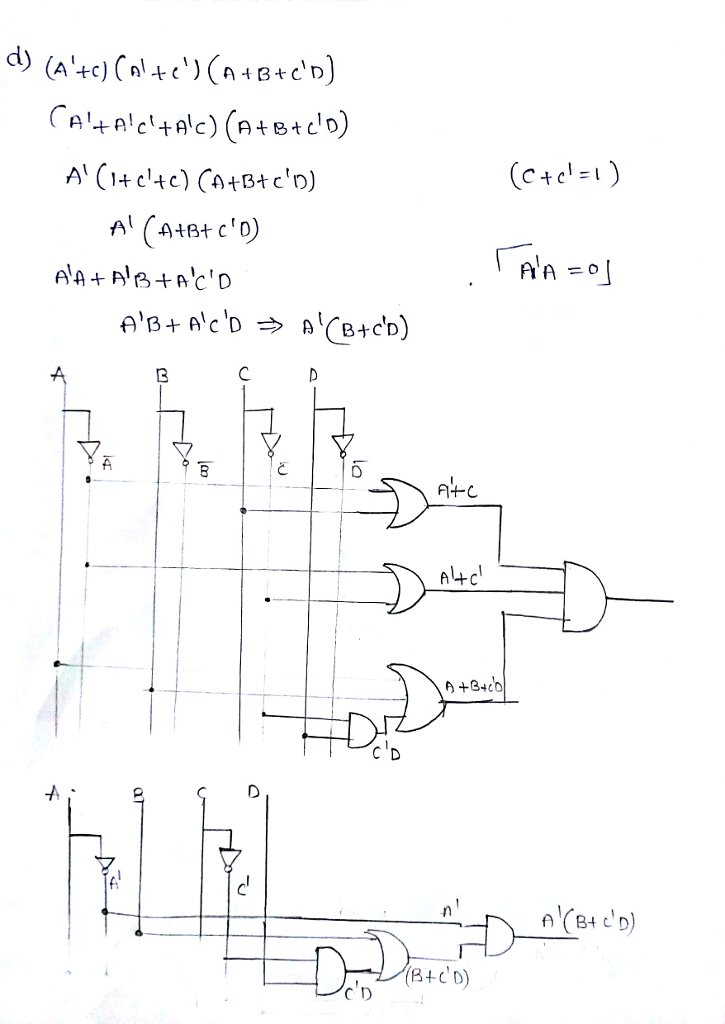 Ab C D Circuit Diagram