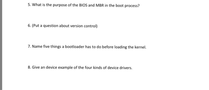 5 types of device drivers
