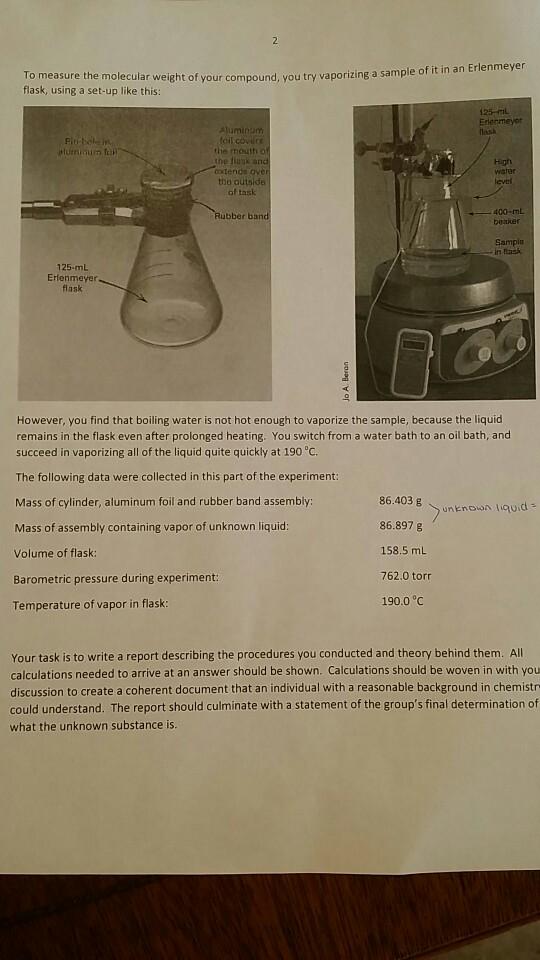 Solved: PBL Comtbustien Anabni (chsa ha Of Volatile Liquid