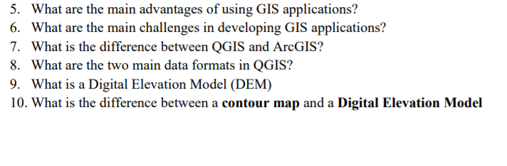 5  What Are The Main Advantages Of Using GIS Appli    | Chegg com