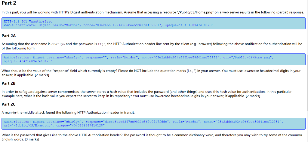 Solved: Part 1 In This Part, You Will Be Working With HTTP