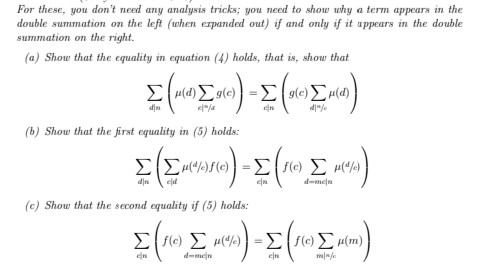 Solved: For These, You Don't Need Any Analysis Tricks