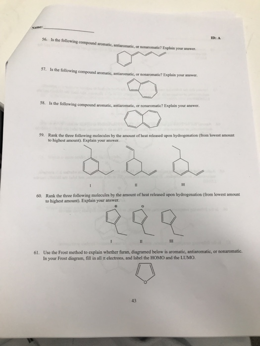 is the following compound aromatic, antiaromasic, or nonaromatic?
