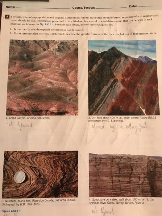 principles of dating sedimentary rocks