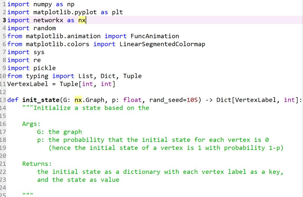 Python  No Output Needed  Please Just Work Inside     | Chegg com