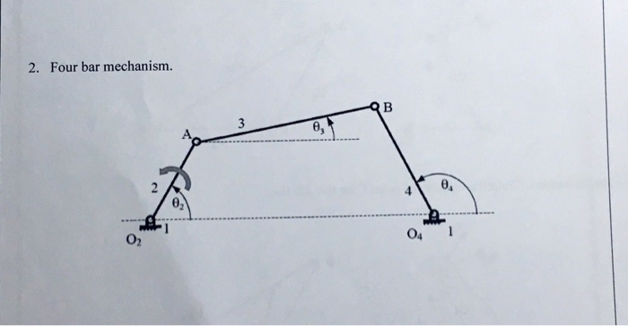 Solved question is to draw relative velocity diagram for four bar mechanism 0 0 04 02 ccuart Image collections
