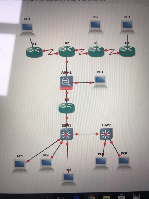 Solved: Network Topology 1  Your Company Has 4 Locations T