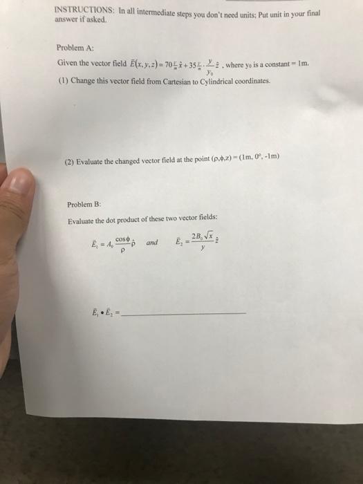Solved Instructions I All Intermediate Steps You Don Ne