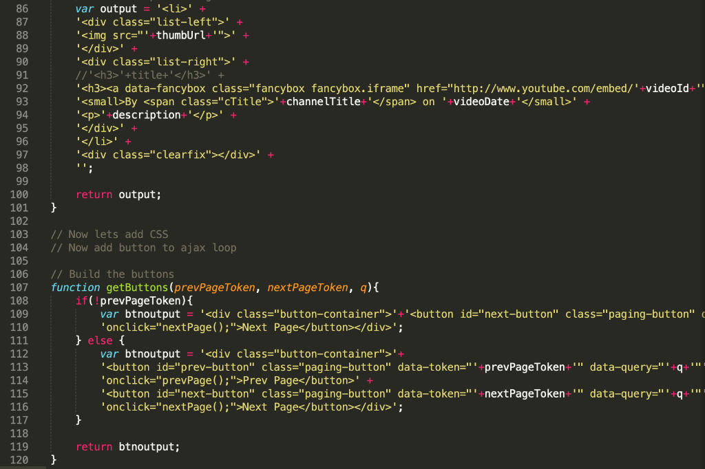Remove The JQuery And Use Vanilla JavaScript Refac