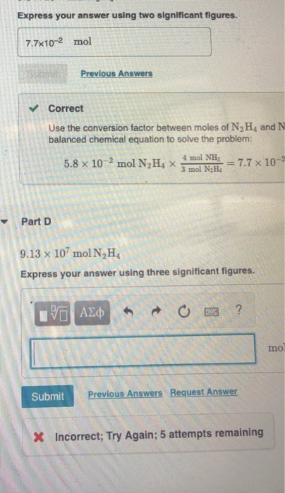 Solved: Express Your Answer Using Two Significant Figures.... | Chegg.com