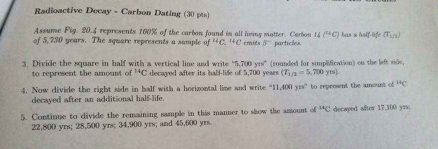 Hvordan bruges halve liv i radioaktive dating