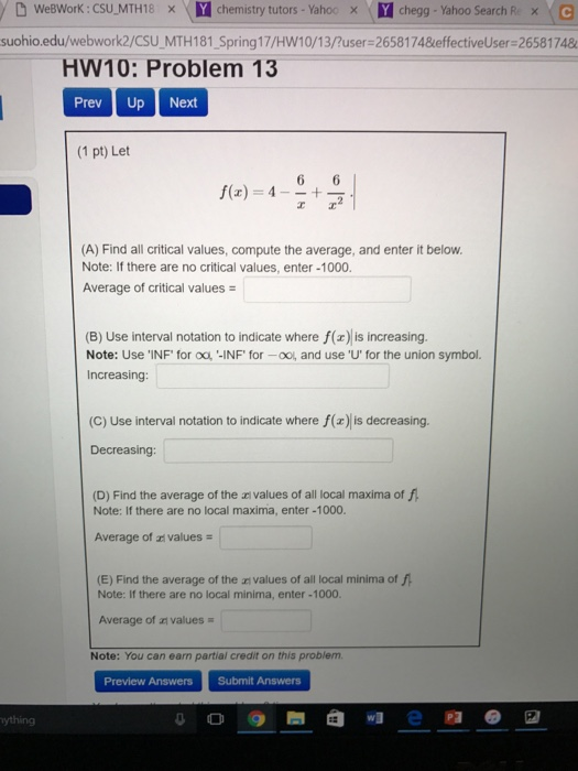 Solved Please Show Each Answer Clearly And Explain How Yo