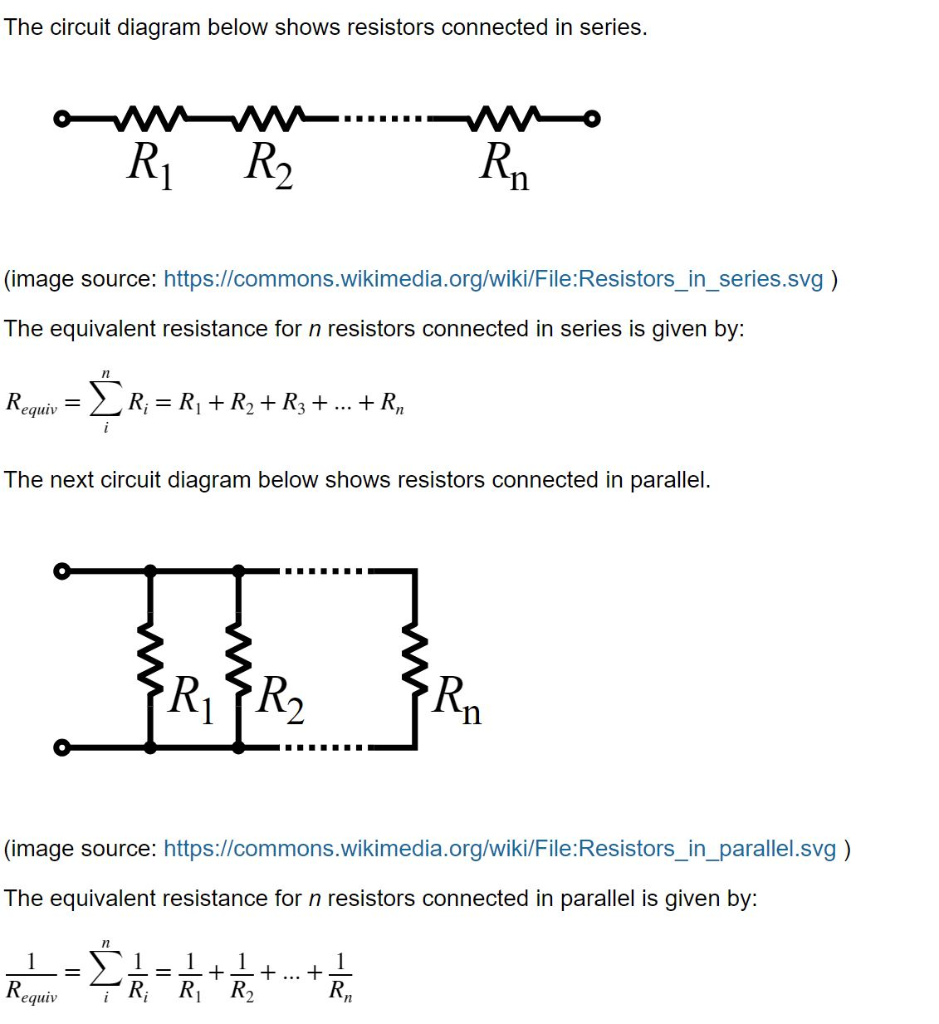 Pleasing Solved The Circuit Diagram Below Shows Resistors Connecte Wiring 101 Kniepimsautoservicenl