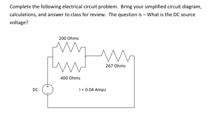 Miraculous Solved Complete The Following Electrical Circuit Problem Wiring 101 Cajosaxxcnl