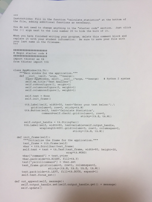 Solved: How Do I Write A Python Code That Would Do All Of